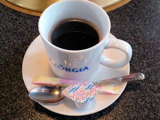焼肉志方亭食後のコーヒー