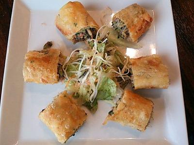 海鮮中華厨房 張家/玉子春巻き