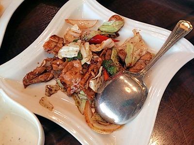 海鮮中華厨房 張家/豚肉とキャベツの甘味噌炒め