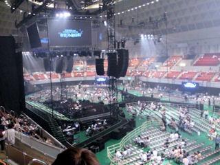 小田和正コンサート2014神戸ワールド記念ホール会場内