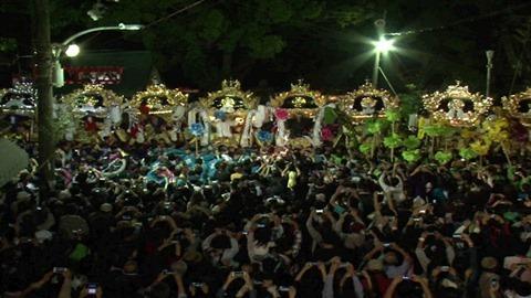 サンテレビ高砂神社秋祭り映像