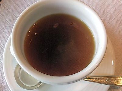 リヴィエール日替りランチのスープ