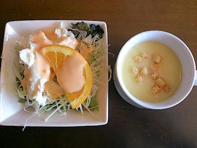 ファミリーレストラン カナディアン/加古川店のサラダバー