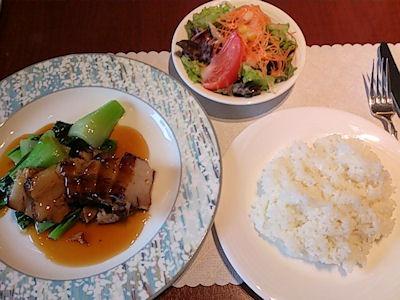 リヴィエール豚バラ肉の中華風煮込み