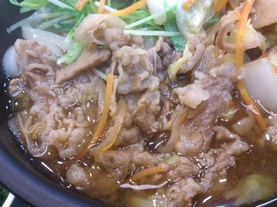 なか卯牛うどんすき鍋膳