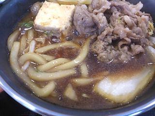 すき家明石西IC店牛すき鍋定食