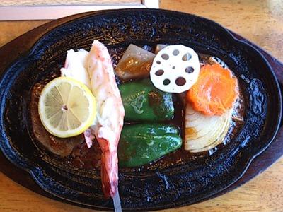 かもめ屋姫路本店ペアA定食