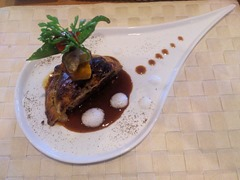 ラ・ポム国産牛フィレ肉とフォアグラのサクサク焼き立てパイ包み焼き