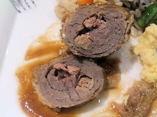 アルモニーアッシュプロモーションランチ/肉料理仔牛ロース肉とフォアグラのカツレツ