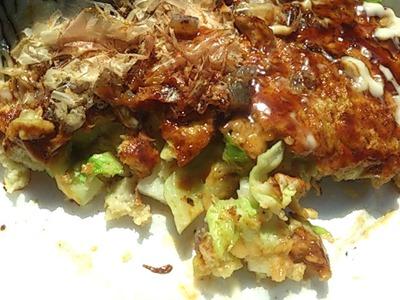 たじま食の祭典但馬牛スジ入り神鍋高原キャベツのお好み焼き