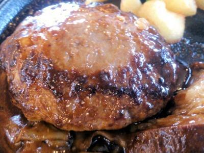 不二家ハンバーグステーキ ビーフシチューソース