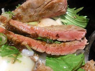 肉のツクモハーフ&ハーフ丼ぶり
