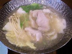 旬彩料理綴り四万十豚のコラーゲン小鍋
