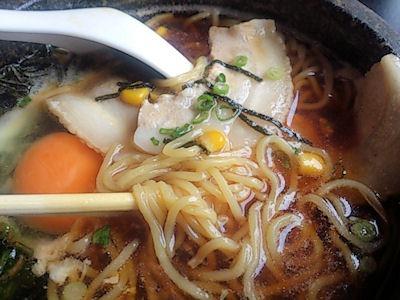 焼肉レストランよつば亭石焼ラーメン(醤油)