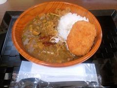 お惣菜のまつおか名古屋まつおかカレーとコロッケ