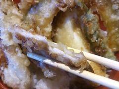 天ぷら海鮮五福豚ロース天丼