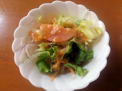 kitchenKATOオムライスのサラダ