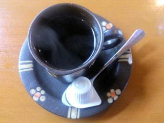 kitchenKATOオムライス食後のコーヒー