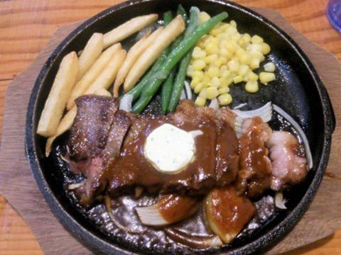 洋食喰うたりやロブスターフェア限定コースステーキ