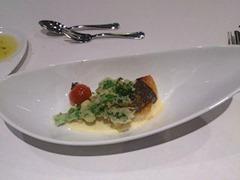 アルモニーアッシュ兵庫県産の食材を味わうプロモーションコース魚料理