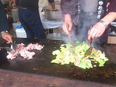 姫路の地のもんグルメフェスタ姫路グルメポークのスタミナ丼
