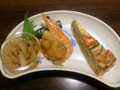 紅鶴特選フカヒレ姿煮セットのミニ前菜