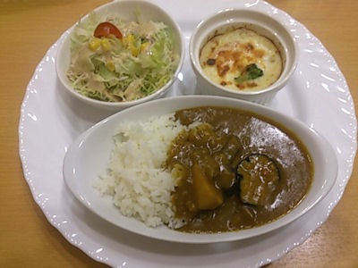 ソラナキッチンカレープレート野菜カレー
