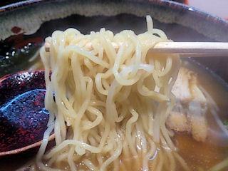 めんくい亭日替り定食(京風ラーメンとかきあげ丼)