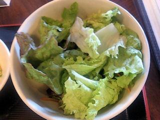 海鮮中華厨房張家日替りランチのサラダ