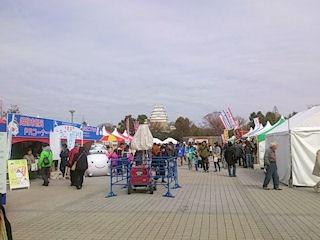 姫路の地のもんグルメフェスタ会場