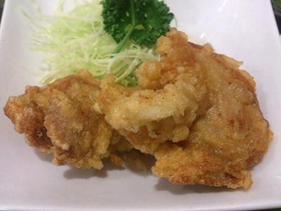 中華料理天津閣スペシャルランチの但馬産地鶏の唐揚げ