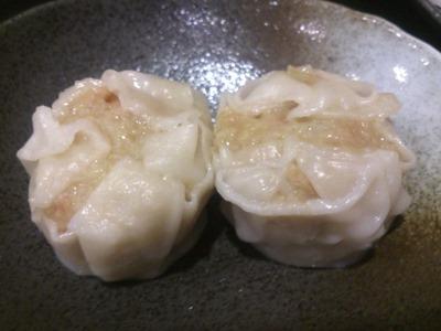 中華料理天津閣スペシャルランチのしゅうまい