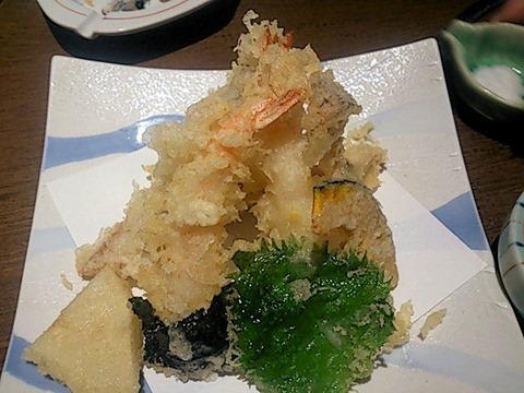旬鮮の房はたごや天ぷら盛合せ