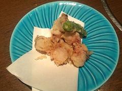 旬鮮の房はたごや蛸の天ぷら