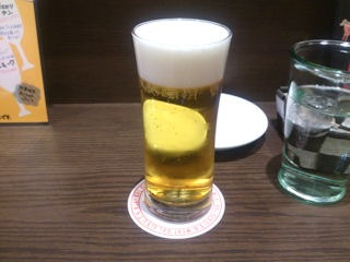 肉食酒場100円の生ビール
