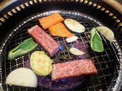 焼肉やまと本店焼き野菜の盛り合わせ