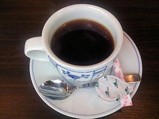 かごの屋オープン記念のチラシで無料のコーヒー