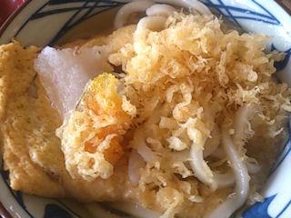 丸亀製麺だし玉肉うどん