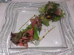 アルモニーアッシュ4周年記念三田和牛スペシャルランチ前菜