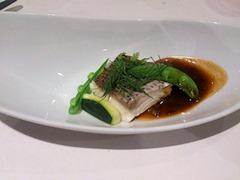 アルモニーアッシュ4周年記念三田和牛スペシャルランチ魚料理