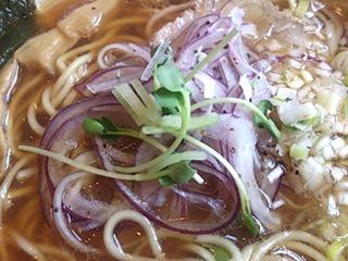 一日一麺や鶏ガラ純醤油ラー麺