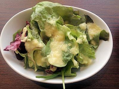 肉食酒場 GYUTA MEAT BALL ランチのサラダとスープ