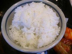 焼肉あづま苑特選スペシャル盛ペアセットのライス