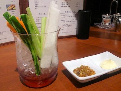 播州鉄板串焼き中々野菜スティック