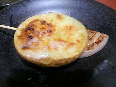 播州鉄板串焼き中々じゃがバター