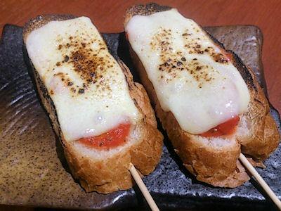 播州鉄板串焼き中々ピザパン