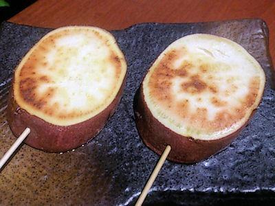 播州鉄板串焼き中々サツマイモ