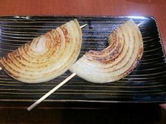 播州鉄板串焼き中々タマネギ