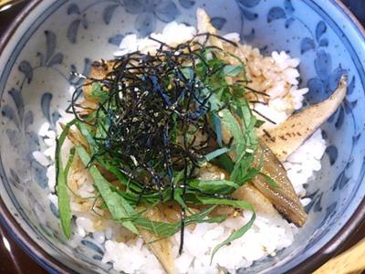 天ぷら海鮮五福焼き穴子のだし茶漬け