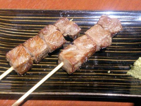 播州鉄板串焼き中々特選和牛サーロイン